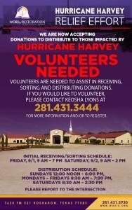 Harvey Volunteers