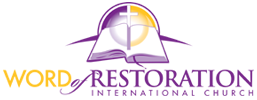 Word Of Restoration International Church Retina Logo